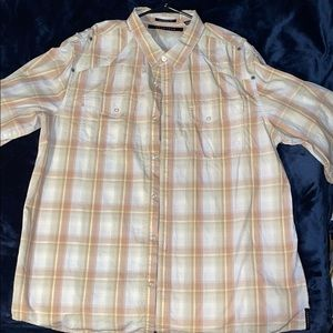 SEAN JOHN CASUAL BUTTON DOWN SHIRT LONG SLEEVE